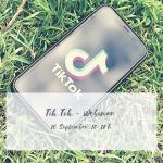 Tik Tok Webinar am 10. September 2020, bereits stattgefunden