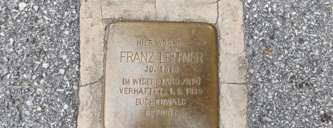 Gedenkspaziergang durch die Grazer Innenstadt